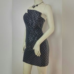 New Express strapless cocktail dress size 4